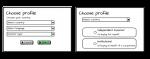 Login optimisation before & after