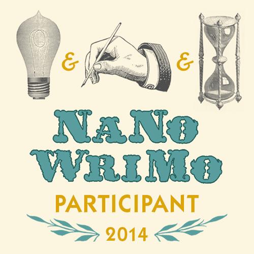 NaNoWriMo participant badge