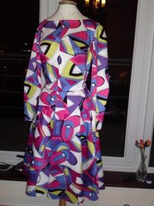 Geometic print dress